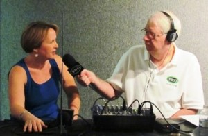 Radio interview at the Daytona Museum of Arts and Sciences festival. (2013)