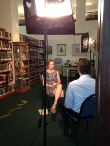 Interview with Jason Guy of WESH 2 News concerning the preservation of historic cemeteries in Florida.